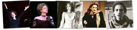 LuPone record collage