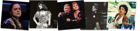 LuPone television collage